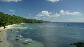 Tropische Strand-Zeitspanne stock footage