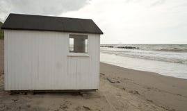 Tropische Strandhütte Stockfotografie