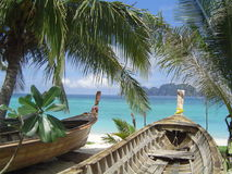 tropische strandtoevlucht Royalty-vrije Stock Foto's
