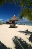 Tropische strandtoevlucht Royalty-vrije Stock Afbeeldingen