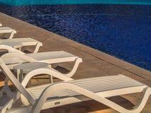 Tropische strandtoevlucht Royalty-vrije Stock Foto