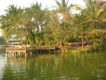 Tropische toevlucht Stock Foto