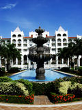 Tropische toevlucht royalty-vrije stock fotografie