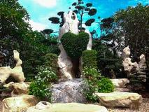 Tropische Tuin Stock Afbeelding