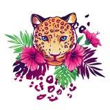Tropische vectorillustratie Stock Afbeeldingen