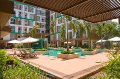Tropische villa Royalty-vrije Stock Afbeelding