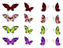 Tropische vlinder Royalty-vrije Stock Fotografie