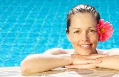 Tropische vrouw Royalty-vrije Stock Afbeelding