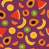 Tropische vruchten Royalty-vrije Stock Foto's