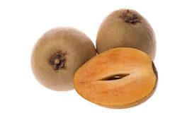 Tropische Vruchten Ciku stock afbeelding