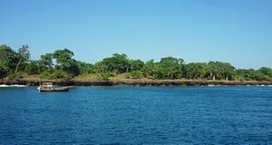 tropische wasini Insel lizenzfreies stockbild