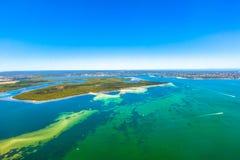 Tropische wateren in Nieuw Zuid-Wales, Australië stock afbeeldingen
