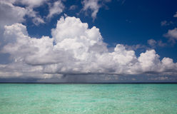 Tropische wateren van de Indische Oceaan Stock Afbeelding