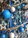 Tropische Weihnachtsdekoration Lizenzfreie Stockbilder