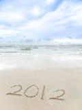 Tropische wensen 2012 Royalty-vrije Stock Fotografie