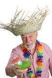 Tropischer älterer Mann lizenzfreie stockfotos