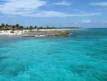 Tropischer Aquamarin Lizenzfreie Stockfotos