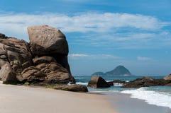 Tropischer brasilianischer Strand Stockfoto