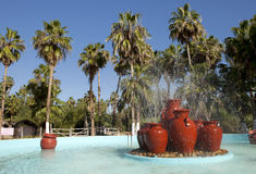 Tropischer Brunnen Lizenzfreies Stockfoto