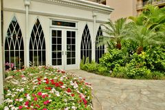 Tropischer Eingang Lizenzfreies Stockbild