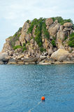 Tropischer Erholungsort bei Ko Tao, Thailand Stockfotografie