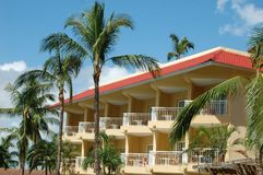 Tropischer Erholungsort-Luxusbalkon Lizenzfreies Stockbild