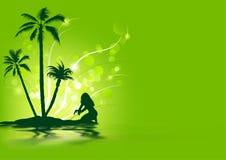 Tropischer Feiertag Stockfoto