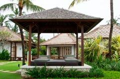 Tropischer Gazebo Stockbilder