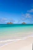 Tropischer Inselstrand Stockfoto