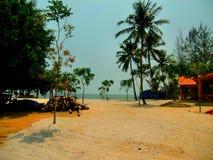 Tropischer Inselstrand Lizenzfreie Stockfotos