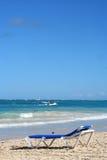 Tropischer karibischer Strand Lizenzfreie Stockfotos