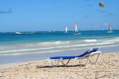 Tropischer karibischer Strand Lizenzfreies Stockfoto
