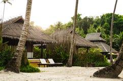 Tropischer schöner Strand auf der Insel Koh Kood, Thailand stockbilder