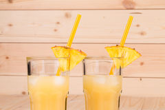 Tropischer Smoothie Stockfoto