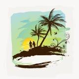 Tropischer Sommer Lizenzfreies Stockbild
