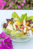 Tropischer Sommer-Salat Stockfotos