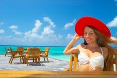 Tropischer Strand Stockfoto