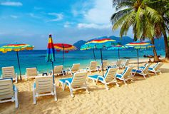 Tropischer Strand stockbild
