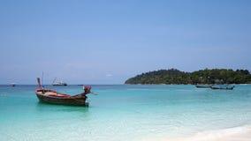 Tropischer Strand, Andaman Meer, Thailand Stockfotos