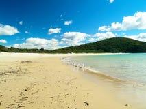 Tropischer Strand in Australien Stockbild