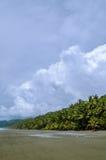 Tropischer Strand - Costa Rica lizenzfreie stockfotografie