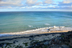 Tropischer Strand nahe Costa Calma in Fuerteventura, Kanarische Insel, Spanien Stockfoto