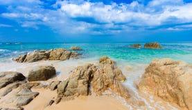 Tropischer Strand Thailands, Patong Phuket Stockfotos