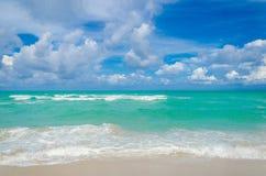 Tropischer Strand und Ozean Miamis Lizenzfreies Stockbild