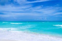 Tropischer Strand und Ozean Miamis Stockfotografie