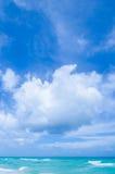 Tropischer Strand und Ozean Miamis Stockfoto