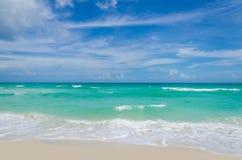 Tropischer Strand und Ozean Miamis Lizenzfreie Stockfotografie