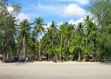 Tropischer Strand von Chang Insel, Thailand Lizenzfreies Stockbild