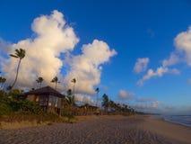 Tropischer Strandurlaubsort Lizenzfreies Stockfoto