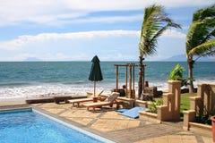 Tropischer Strandurlaubsort Stockbilder